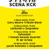 Letnia scena KCK - koncerty pod chmurką