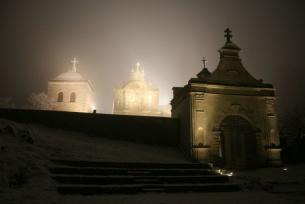Iluminacja Klasztoru na Świętoym Krzyżu