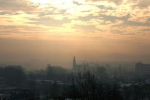 Kielce zimą