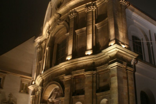 Iluminacja Klasztoru na Świętym Krzyżu