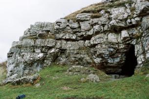 Jaskinia Zbójecka w Wąwozie Dule w Łagowie