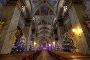Wnętrze Katedry Kieleckiej