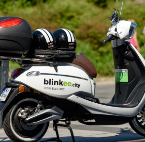 Elektryczne skutery blinkee.city w Kielcach