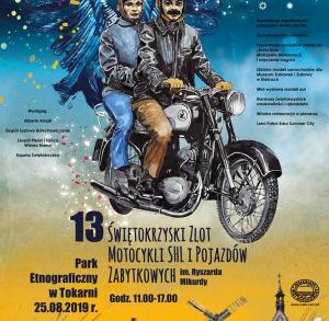 Świętokrzyski Zlot Motocykli SHL i Pojazdów Zabytkowych