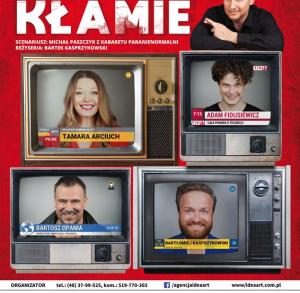"""Spektakl """"Telewizja kłamie"""" w KCK"""
