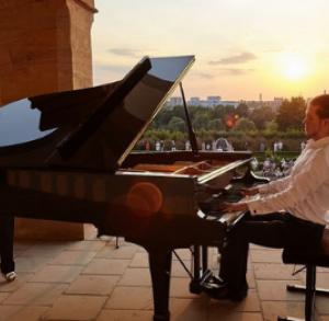 Chopinowskie inspiracje - cykl koncertów w ogrodzie włoskim