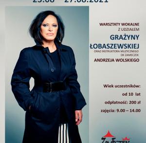 Wakacyjne warsztaty wokalne z Grażyną Łobaszewską w Zameczku
