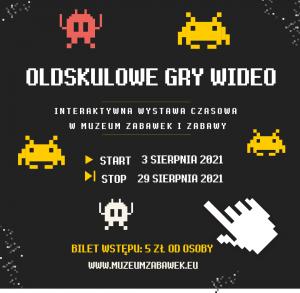 Oldskulowe gry wideo w Muzeum Zabawek i Zabawy - wystawa czasowa