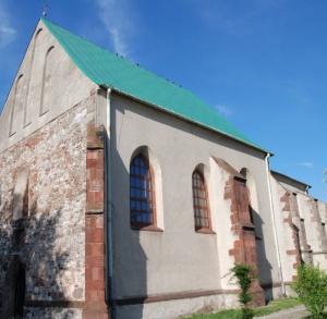 Kościół i klasztor pofranciszkański w Chęciach