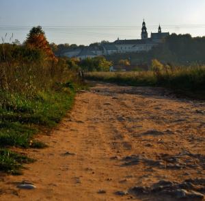 Szlaki rowerowe wyjazdowe z centrum Kielc do granic miasta