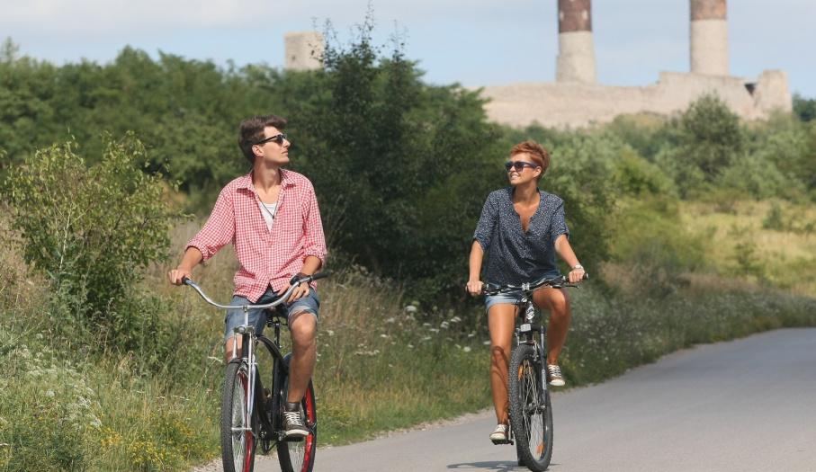 Wycieczka rowerowa na Zamku w Chęcinach