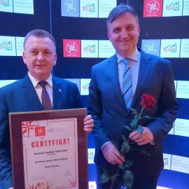 Sukces Zamku w Chęcinach! - Certyfikat POT 2017