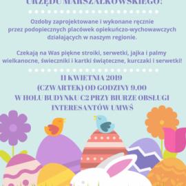 Kiermasz ozdób wielkanocnych w Urzędzie Marszałkowskim