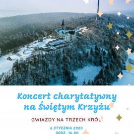 Koncert charytatywny na Świętym Krzyżu