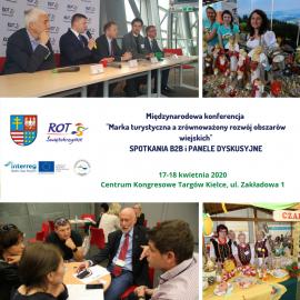 """Konferencja """"Marka turystyczna a zrównoważony rozwój obszarów wiejskich"""" przy targach Agrotravel&Active Life"""