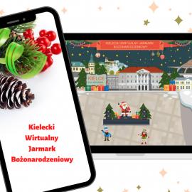 Wirtualny Jarmark Bożonarodzeniowy w Kielcach